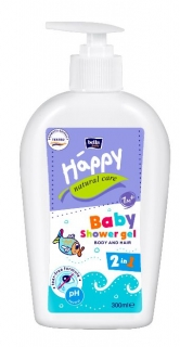 Happy Natural Care sprchový gél 2v1 300 ml