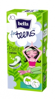 Slipové vložky Bella for Teens Relax - 20 ks